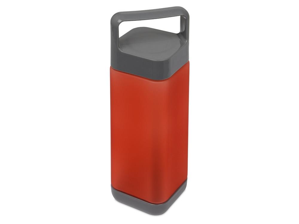Бутылка для воды Balk 650 мл soft-touch, красный