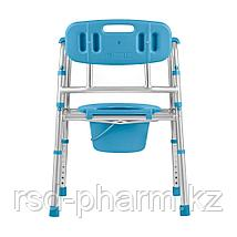 """Кресло-стул инвалидное с санитарным оснащением """"Ortonica"""" TU 5 (складной),, фото 2"""