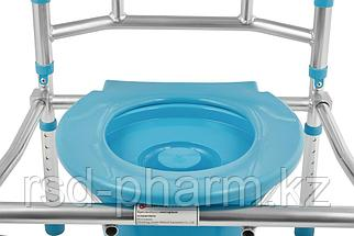 """Кресло-стул инвалидное с санитарным оснащением """"Ortonica"""" TU 5 (складной),, фото 3"""