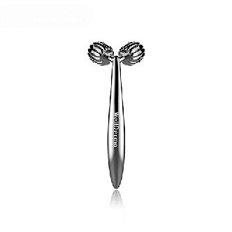 Роликовый массажёр для лица WellDerma Face Lifting Dark Silver Roller, фото 2