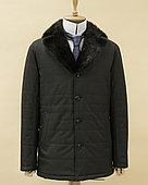 Куртка с норковым воротником