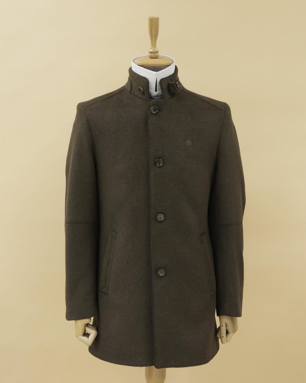 Мужское пальто стойка воротник (enrico guido)