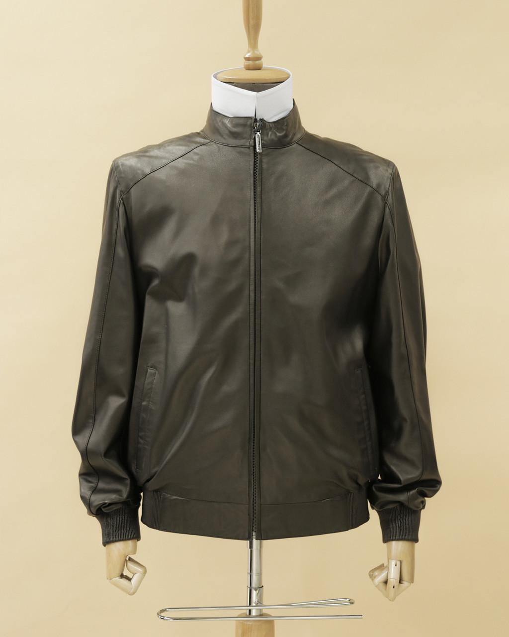 Кожаная куртка (черная)