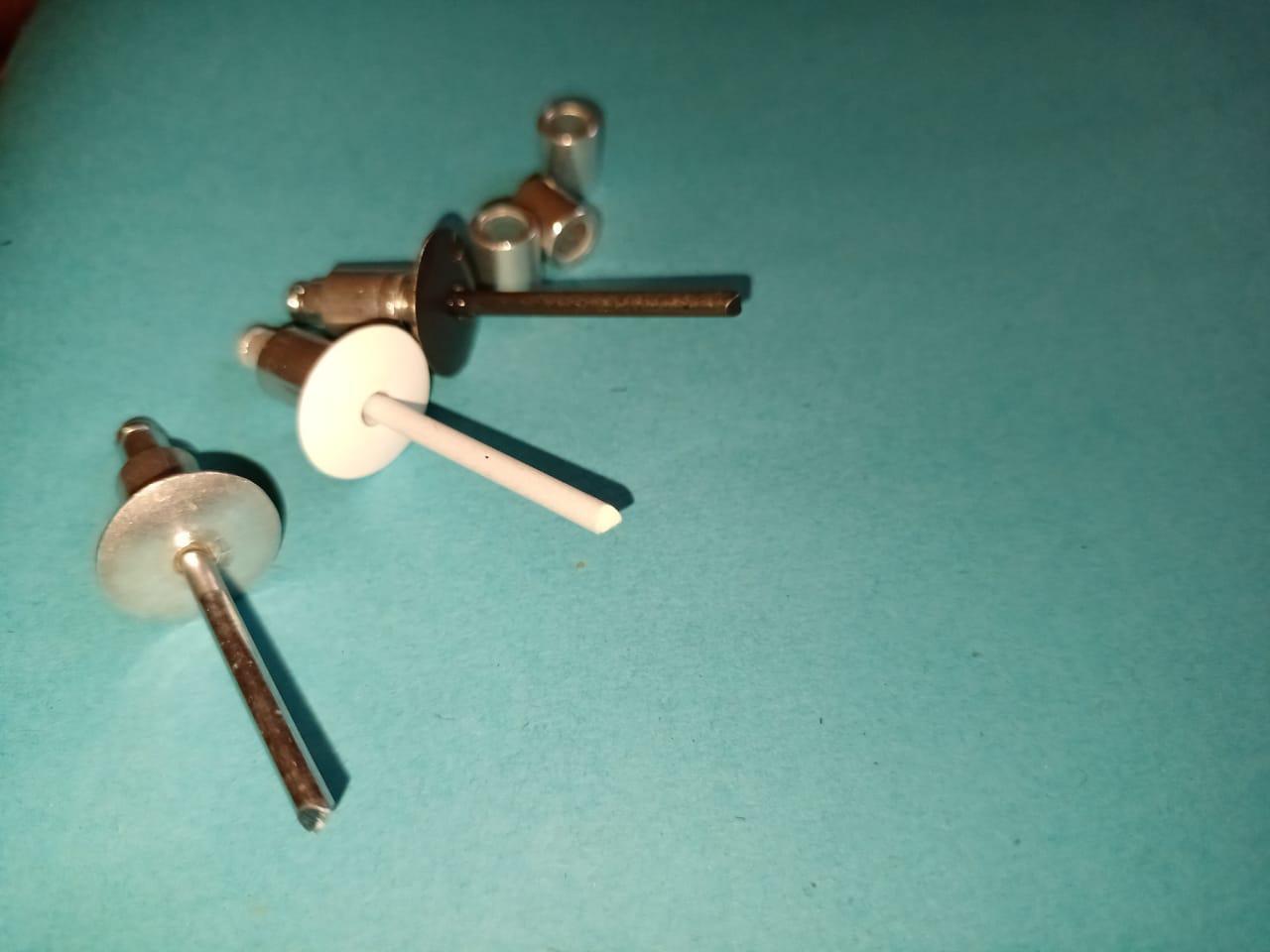 Заклёпки фасадные с бортом 16 мм