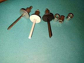 Заклёпки фасадные с бортом 21 мм