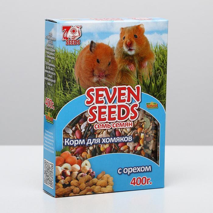 Корм для хомяков Seven Seeds, с орехом