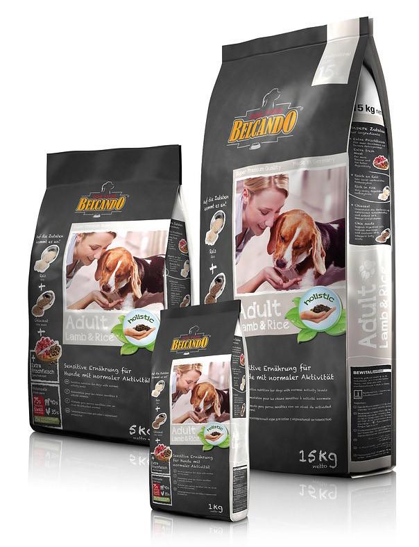 Сухой корм для собак Belcando ягнёнок/рис, 15 кг