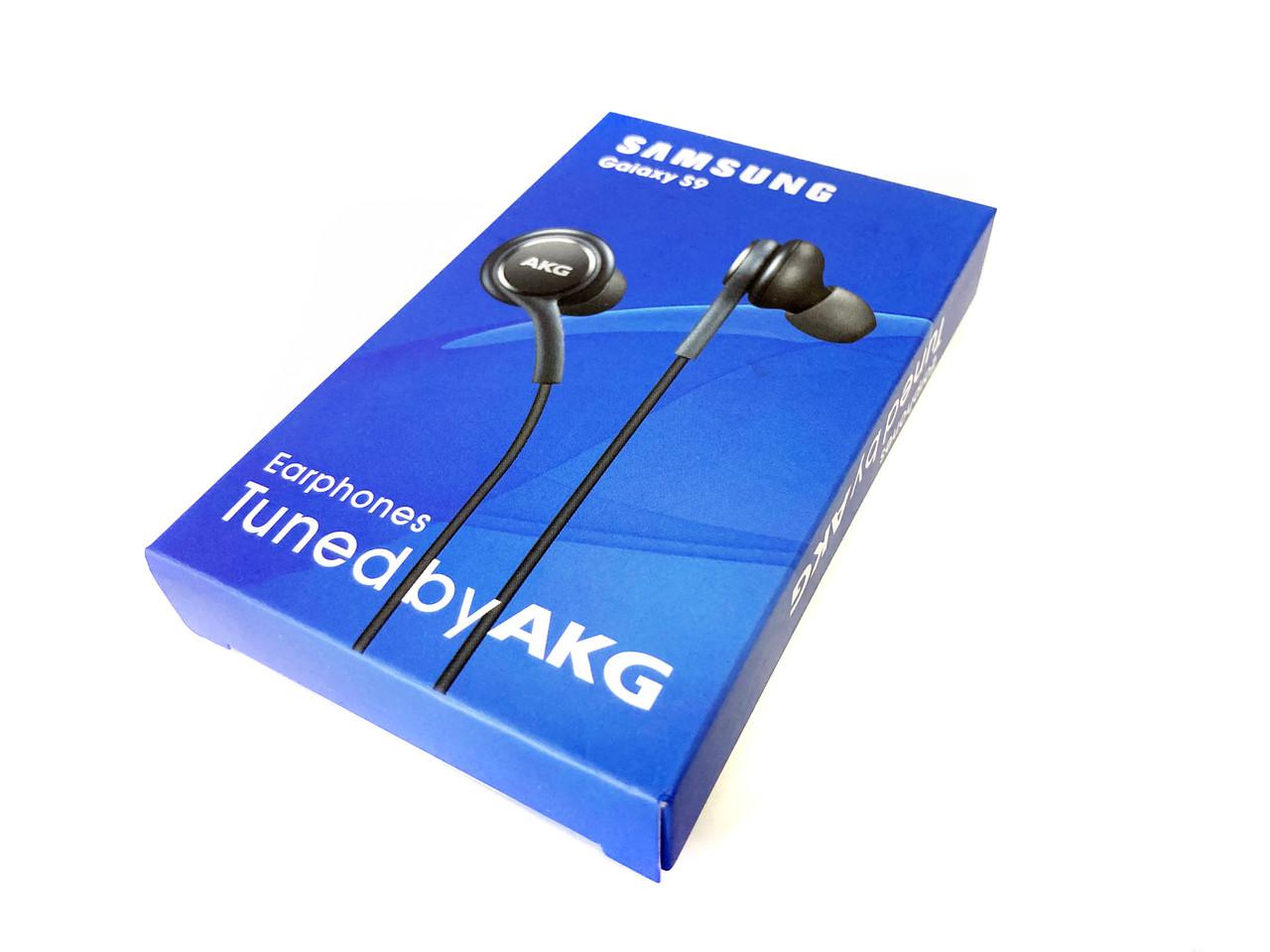Проводная стерео-гарнитура Samsung Earphones AKG (Copy), mini jack 3.5, вакуумные, микрофон, серые