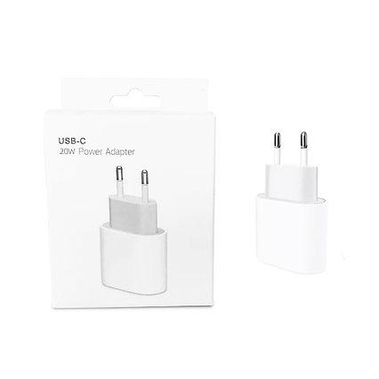 Сетевой адаптер (USB-C) Apple A2347 MHJ83ZM/A, 20W USB-C (Оригинал), для iPhone, iPad, AirPods