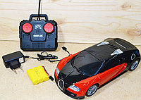 5002-4 Model car Бугатти на р/у 4функции 36*12см, фото 1