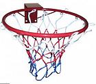 Баскетбольное кольцо усиленное с сеткой, фото 2
