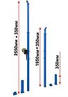 Стойки волейбольные телескопические, фото 2