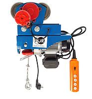 Электрическая таль с тележкой TOR PA-600/1200 20/10M (N)