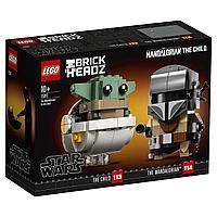 LEGO BrickHeadz: Мандалорец и малыш 75317