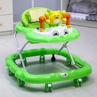 Ходунки 'Мишутка', 8 силик. колес, муз., свет, игрушки, зеленый
