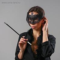 Карнавальный набор «Бонни», маска, мундштук, боа