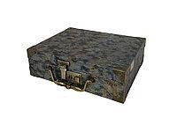 Чемодан/кейс для парикм. кожзам с кодовым замком 30 х 23 х 9 см в ассорт. №11745(2)