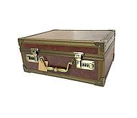 Чемодан/кейс для барбера кожзам с двумя кодовыми замками 35 х 28 х 16 см в ассорт. №18388