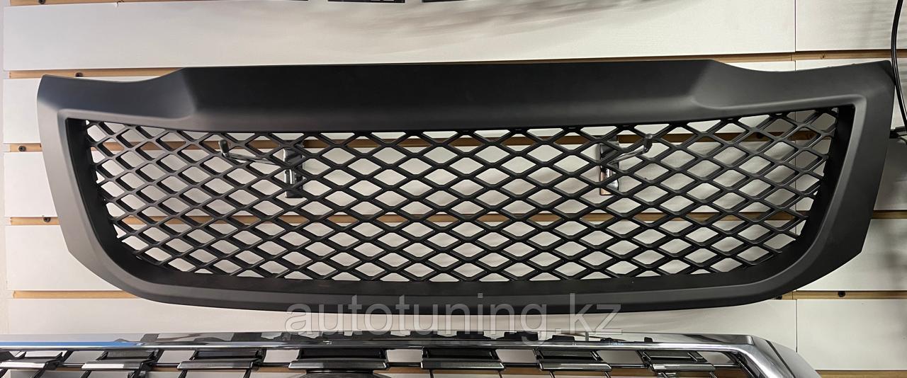 Решетка радиатора TRD BLACK Matte на  Hilux Vigo MK7 2011-2015
