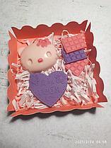 """Набор сладостей  """"Детский"""" в ассортименте (белый шоколад с ягодным вкусом  17см х 17см)"""