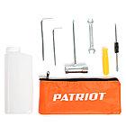 Газонокосилка бензиновая PATRIOT PT 520 (2 такт) 52сс, 3л.с., 42см, 300 мм, фото 4
