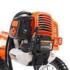 Газонокосилка бензиновая PATRIOT PT 525 (2 такт) 52сс, 3л.с., 42см, 300 мм, пневмо колеса, фото 7