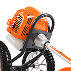 Газонокосилка бензиновая PATRIOT PT 525 (2 такт) 52сс, 3л.с., 42см, 300 мм, пневмо колеса, фото 8