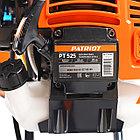 Газонокосилка бензиновая PATRIOT PT 525 (2 такт) 52сс, 3л.с., 42см, 300 мм, пневмо колеса, фото 9