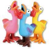 Trixie 35267 Латексная игрушка веселый цыпленок со звуком 14см для собак
