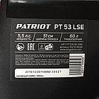 Газонокосилка бензиновая PATRIOT PT 53LSE, 173сс, 5,5л.с., 51см, 60л. трав., метал. дека, на колесах, фото 10
