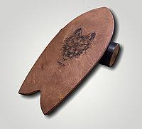 Балансборд (взрослый, размер сёрф, покрытие с гравировкой)