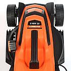 Газонокосилка электрическая PATRIOT PT 1634E, 1.6кВт, 34см, плавный пуск, травосборник 35л пластиковый, фото 5