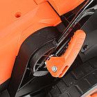 Газонокосилка электрическая PATRIOT PT 1634E, 1.6кВт, 34см, плавный пуск, травосборник 35л пластиковый, фото 7