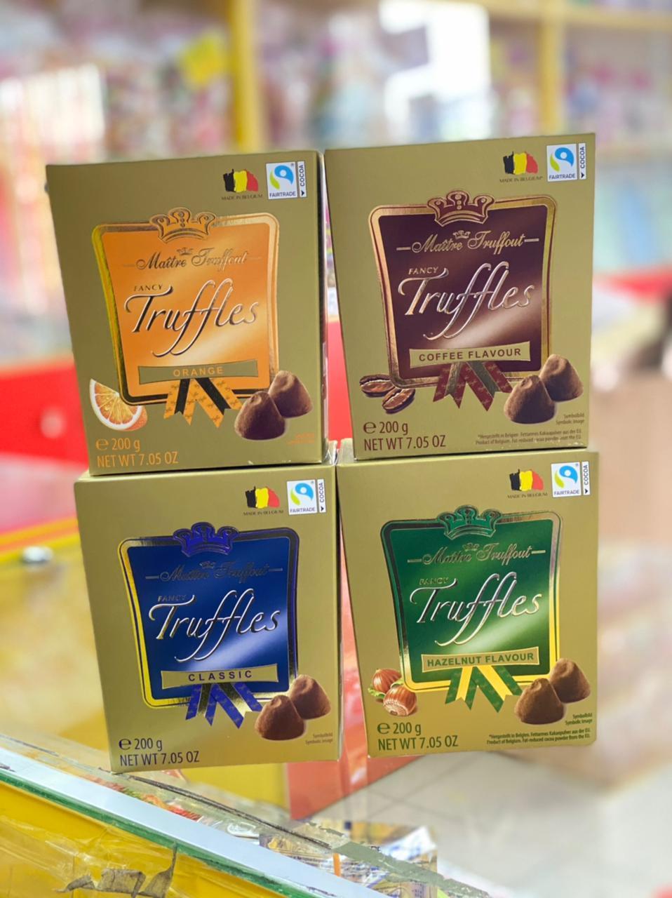 "Бельгийский шоколад Трюфели ""Maitre Truffout"" 200гр"