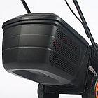 Газонокосилка электрическая PATRIOT PT 1433E, 1.4кВт, 32см, плавный пуск, травосборник 30л пластиковый, фото 6