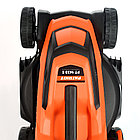 Газонокосилка электрическая PATRIOT PT 1433E, 1.4кВт, 32см, плавный пуск, травосборник 30л пластиковый, фото 10