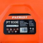 Газонокосилка электрическая PATRIOT PT 1130E, 1300 Вт, 32см, высота 3 позиц, пластик. травосбоник 30л, фото 10