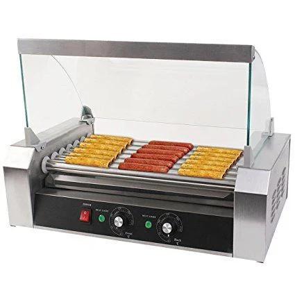 Роликовый гриль для жарки сосисок - 5 роликов