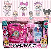 Набор игровой бытовая техника на батарейках Small family Play set fanny Lol розовый