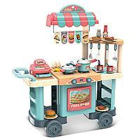 Детская кухня кафе на колесах