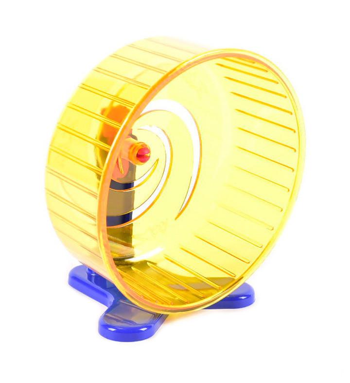 Колесо для грызунов литое с подставкой Zoom, 140 мм