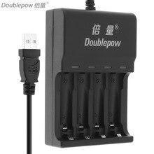 Зарядное устройство Doublepow DC 5V 4 слота, фото 2