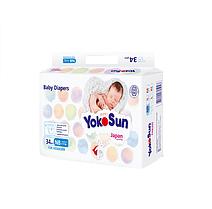 Подгузники YokoSun NB (2-5kg) 34 штуки для новорожденных