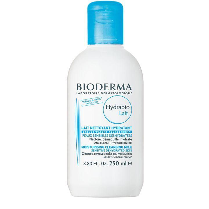 Биодерма Гидрабио очищающее молочко для обезвоженной кожи 250 мл