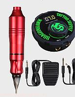 Роторный аппарат Dragonhawk Tattoo Pen (набор).