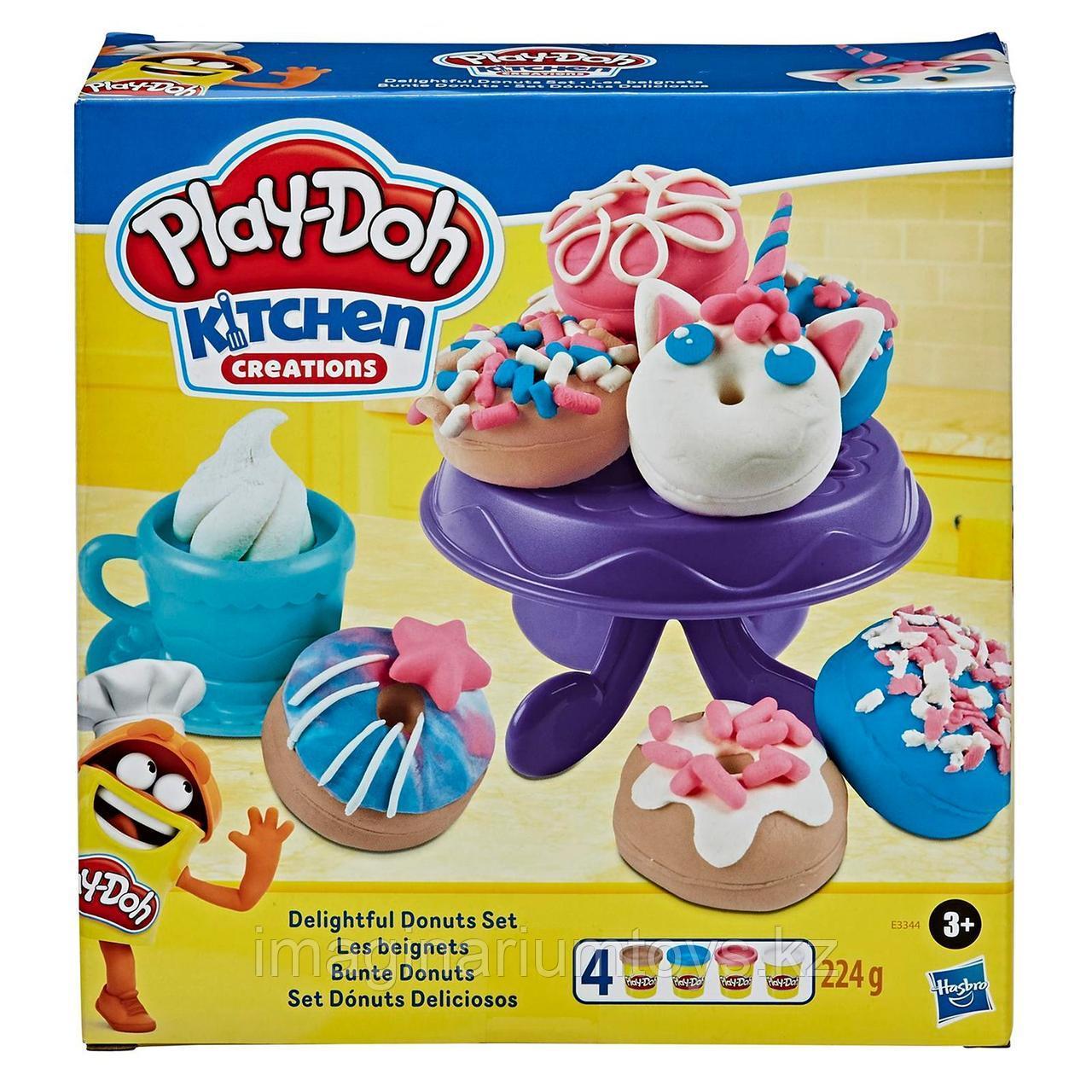 Play-Doh Плейдо игровой набор пластилина «Выпечка и пончики»