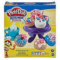 Play-Doh Плейдо игровой набор пластилина «Выпечка и пончики», фото 1