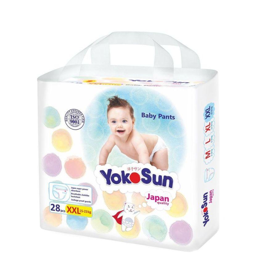 Трусики YokoSun XХL (15-23 кг) 28 штук