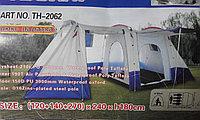 Палатка с тамбуром двухслойная