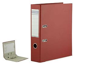 Папка-регистратор KUVERT А4, ширина корешка 72 мм, красная